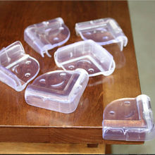 Hot Selling 10PCS Clear Rubber Corner Edge Table Cushion Guard Child Safety Head Protector Edge Corner Guards Protect your Baby