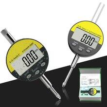 Electronic Digital indicator Metric/Inch Range 0-12.7/25.4mm Dial Indicator Precision Tool Dial Gauge Indicator Caliper 0 001mm high accuracy metric precision dial indicator dial gauge measuring meter 0 1 mm dial indicator gauge 0 001