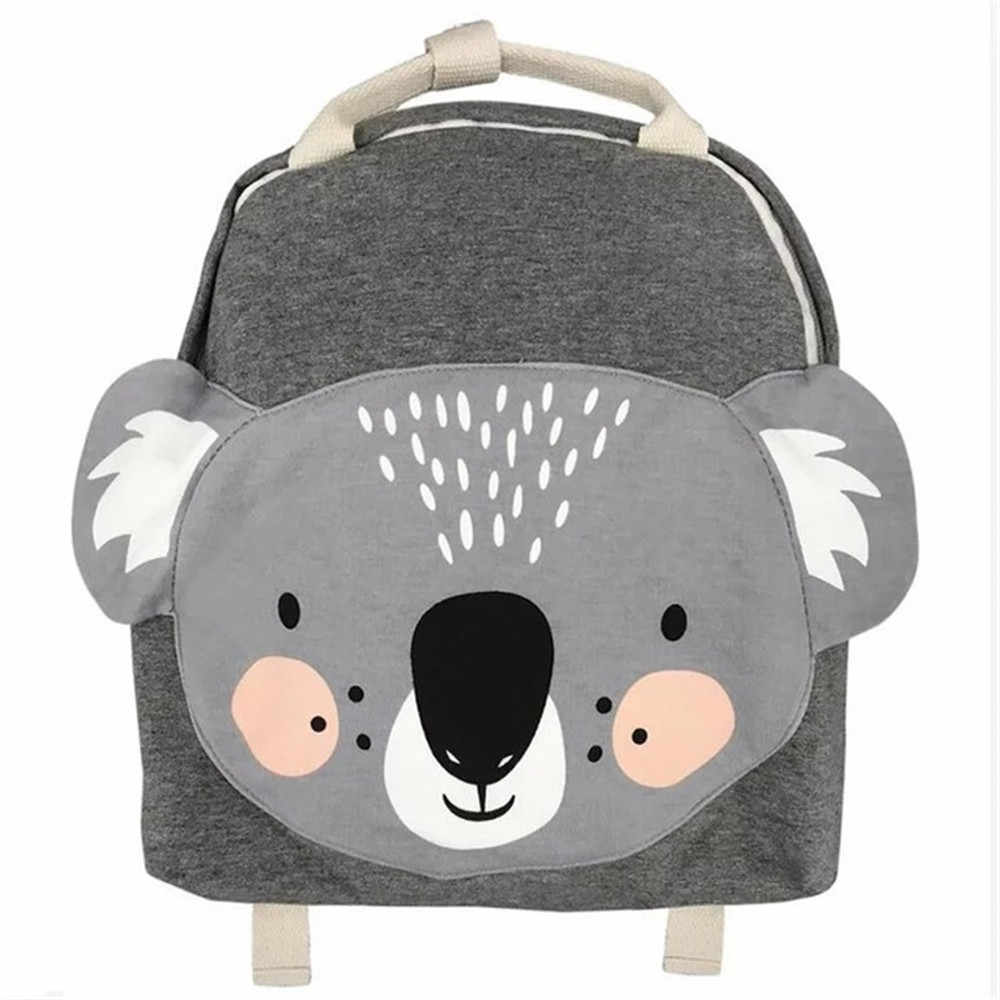 תוספות נורדי ילדי תרמילי בעלי חיים עיצוב ילדה בני תרמיל לפעוטות ילדים גן ילדים תיקי בית ספר קריקטורה ארנב תיק