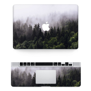 Texture Laptop Body Decal Protective Skin Vinyl Stickers for Macbook Air Pro Retina 11