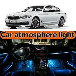 Dla BMW 5-series520 525 528 530 540 F10 F11 F18 F07G30G31G38M5atmosphere podstawy lampy światła światła LED drzwi akcesoria do modyfikacji