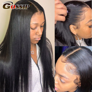 Image 3 - 13x6 Lace Front Wig Straight Lace Front Human Hair Wigs For Black Women Brazilian 360 Lace Frontal Wig Pre Plucked 180% Remy Wig