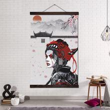 Плакаты и принты картина из прокрутки искусство на холсте настенные