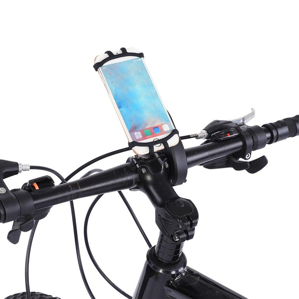 SOONHUA Bicicleta Moto Soporte para Montaje en Manillar Accesorio Bolsa Impermeable Negro