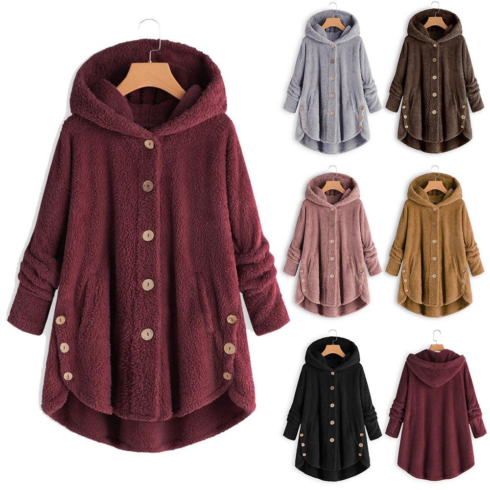 Elegant Faux Fur Coat Women Autumn Winter Warm Soft Fur Jacket Female Long Plush Long Overcoat Pockets Casual Teddy Outwear шуба