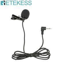 Портативный микрофон с отворотом и зажимом, микрофон с разъемом 3,5 мм, проводной микрофон, свободные руки для гида, петличный микрофон F4511B