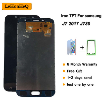 5.5 Iron TFT Display For SAMSUNG Galaxy J7 Pro 2017 J730 J730F LCD Digitizer Assembly Replacement Parts image