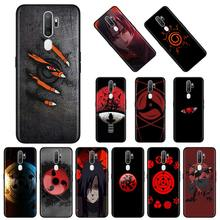 Naruto anime fond Noir Coque Souple Pour Oppo A5 A9 2020 Reno3 F11 Pro Trouver X2 Lite Pro ACE2 A31 F15 A52 A72 A92 A92s Couverture(China)