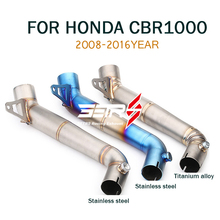 Mid Link Pipe Motorcycle Muffler Exhaust pipe Escape SC Moto Stainless steel For Honda cbr1000rr 2018-2016 CBR1000RR
