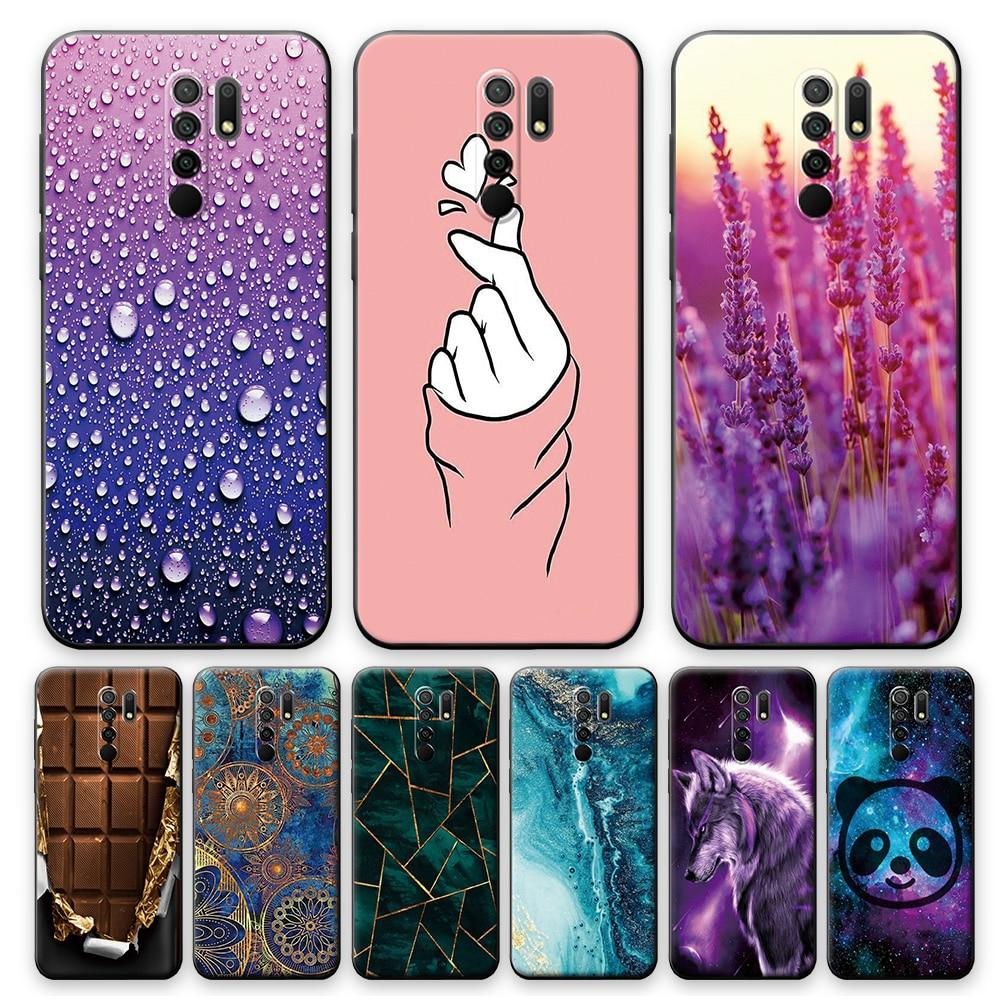 For Xiaomi Redmi 9 Case Cover Phone Case For Redmi 9 Soft Case 6.53 Inch Animal Cartoon For Redmi 9 Silicone Back Bumper Shell
