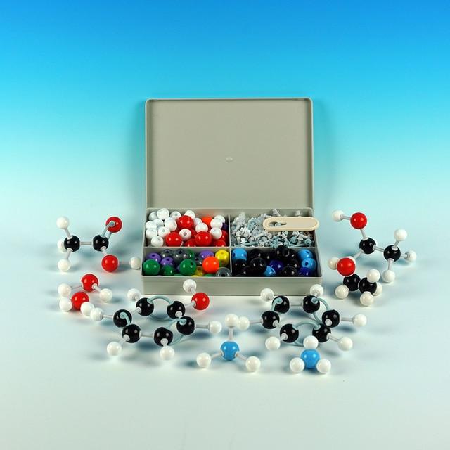 مناسبة لمعلمي المدارس الثانوية والطلاب مجموعة نموذج جزيئي مجموعة الكيمياء العالمية والعضوية مدرسة تعليم التعلم