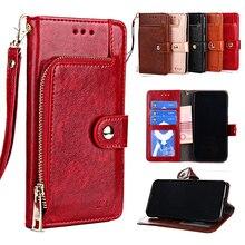PU Leather Wallet Flip Case For LG G8 G8X G8S G7 ThinQ G6 G5 SE lite G4 V60 V50 V50s V40 V30 V30s Plus V20 V10 Card Holder Cover