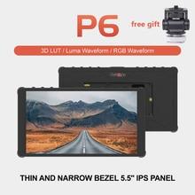 "Portkeys P6 5.5"" Inch Monitor 4K HDMI 3D LUT on Camera DSLR Field Monitor 1920x1080 Display RGB Waveform for DSLR Camera"