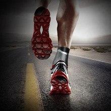 1 pz caviglia uomo donna piede Brace compressione supporto manica elastico traspirante per corsa, escursionismo, alpinismo