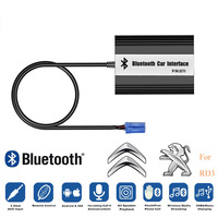 LISIDIC A2DP Car MP3 Music Player Bluetooth USB AUX Adapter for Peugeot 106 206 RD3 Citroen C3 C4 C5 C8 8PIN Interface
