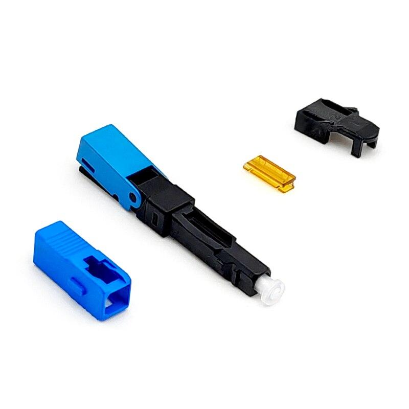 ESC250P SC UPC быстрый соединитель механический волоконно оптический соединитель для FTTH проекта - 2
