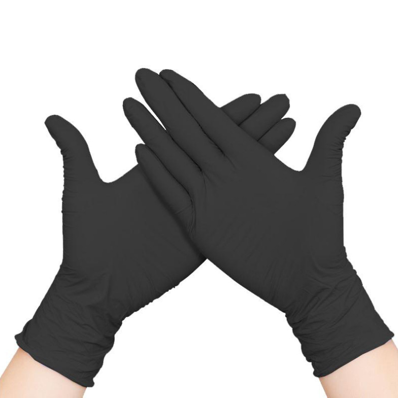 Kitchen Disposable Gloves PVC Gloves Transparent Thickened Beauty Hair Dye Labor Protection Protective Gloves Food Grade