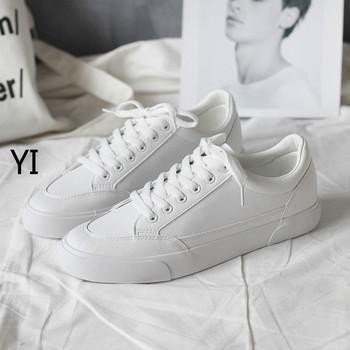 yi 2019 NEW  breathable canvas shoes, men and women's fashionable low-end slapboard shoes 35-44