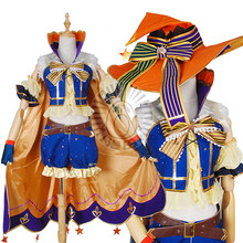 Hot Sale!!! lovelive Halloween awaken Koizumi Hanayo Dress party costume for woman A