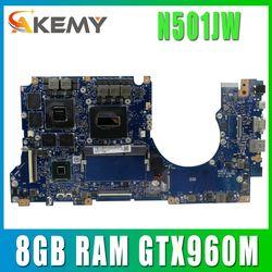 N501JW Met I7-4720HQ Cpu Moederbord Voor Asus Rog N501JW UX501J G501J UX50JW FX60J Laptop Moederbord 8Gb Ram GTX960M 100% getest