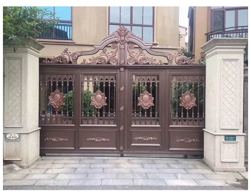 China Wholesale Sliding Aluminium Iron Main Gate Design In Sri Lanka Cheap Gates