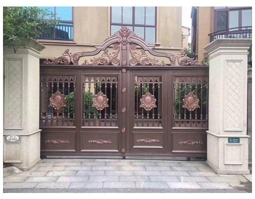 China Wholesale Sliding Aluminium Iron Main Gate Design In Sri Lanka Cheap Gates