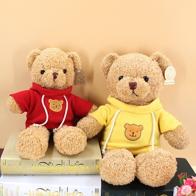 30cm soft teddy bear plush toy stuffed animals accompany toy playmate doll PP cotton kitds toys Christmas birthday gifts Uncategorized Decoration Stuffed & Plush Toys Toys