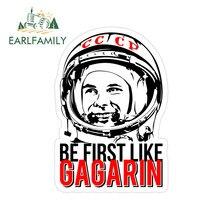 Earlfamily 13Cm X 9.1Cm Voor Ussr Worden Eerste Als Gagarin Camper Truck Decal Diy Waterdicht Krasbestendig anime Auto Stickers