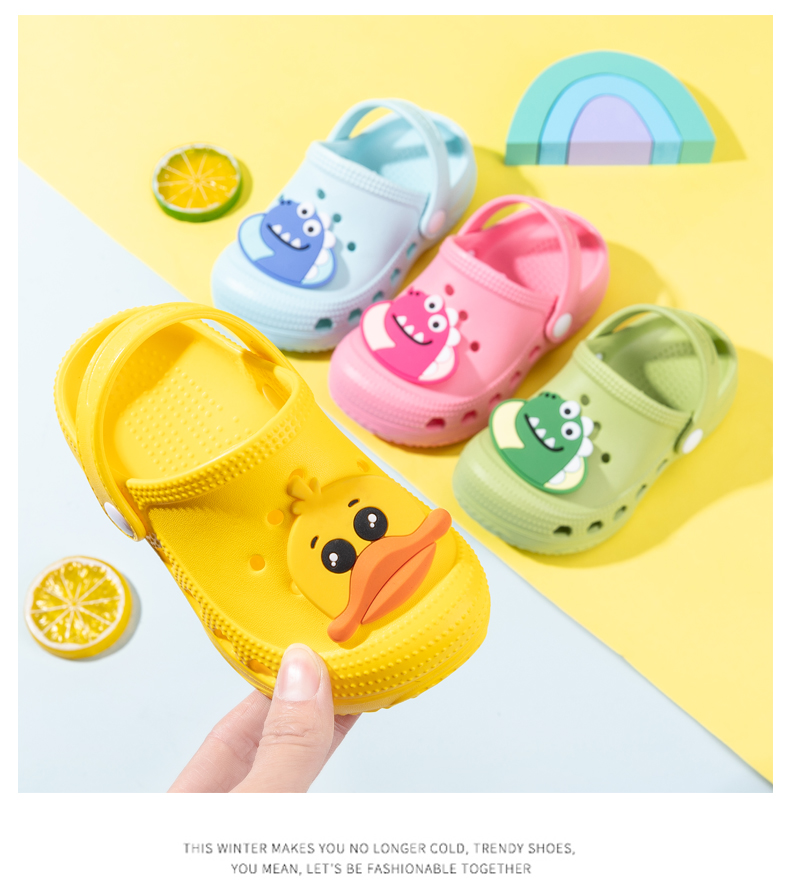 Girls Shoes Clogs baby Slippers 2020