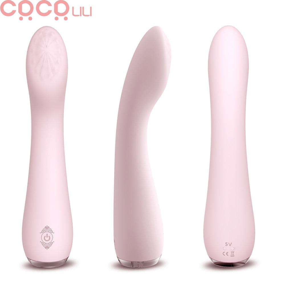 G Spot yapay penis vibratör seks oyuncakları kadın için silikon su geçirmez 9 mod Vibrador erotik g-spot klitoris masajı kadın masturbator