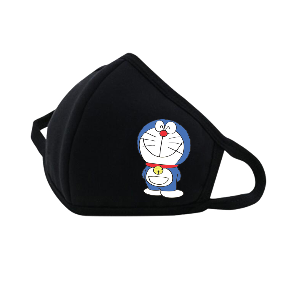 Anime  Doraemon Mouth Face Mask Dustproof Breathable Facial Protective Cute Unisex Cartoon Mouth Cover Masks