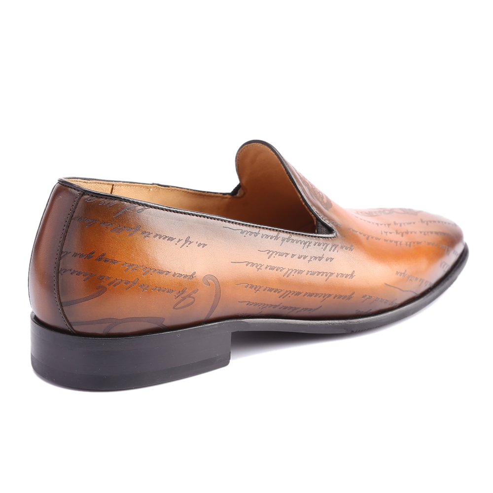 Image 3 - Leather Shoes Men Real Genuine Leather Custom Fashion Office Dress Wedding Luxury Brand Formal Party Loafer Mens Casual ShoesMens Casual Shoes   -