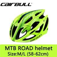 Capacete de bicicleta 21 aberturas ultra-leve respirável mtb estrada capacete da bicicleta 6 cores tampa interna casco capacete da bicicleta