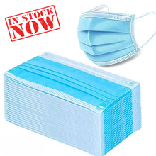 3 Laye Surgical Mask Dust protection Masks Disposable Face Masks Elastic Ear Loop Disposable Dust Filter Safety Mask