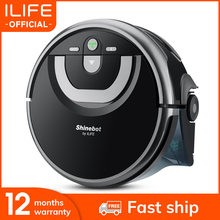 ILIFE New W400 Floor Washing Robot Shinebot Navigation Large Water Tank Kitchen Cleaning Planned Cleaning Route