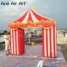 3 м(ширина) x 3m H логотип/текст недавно арки, радуга, надувные цирк труппа арки, цирк запись для продажи