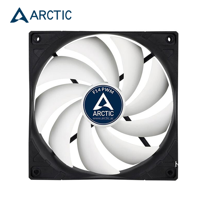 ARCTIC  F14 PWM REV.2 14CM Fan For Computer Case  4pin PMW Fan Port 140mm Watercooling Fan For CPU Radiator