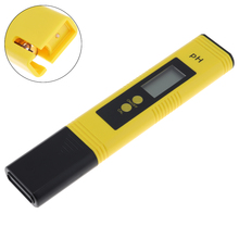 Mini PH Meter  0.00-14.00 pH LCD Digital Portable High Accuracy PH Meter Test Pen with Glass Probe for The PH Level of Water az8680 waterproof pen digital ph meter industrial pen ph tester range 2 12ph accuracy 0 3ph