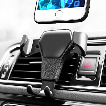 Gravity Car Holder For Phone in Car Air Vent Clip Mount No Magnetic Mobile Phone Holder Cell Stand Support For iPhone X 8 image