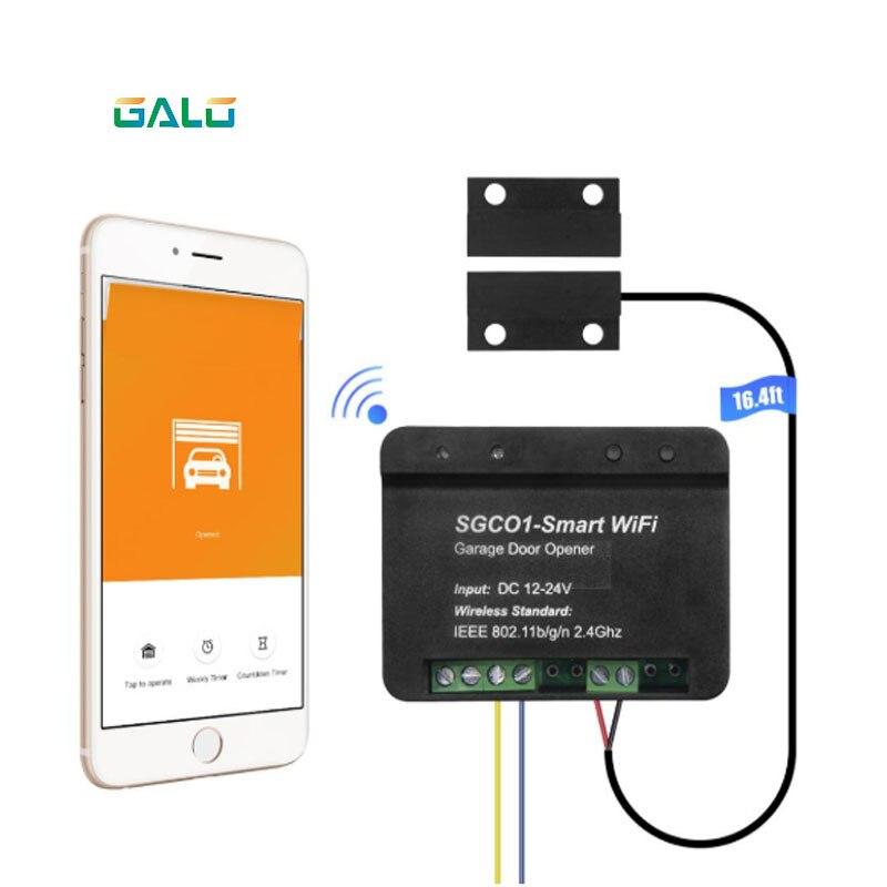 Garage Door Mobile Phone WiFi Control Opener WIFI Controller Receiver Wifi Smart Receiver