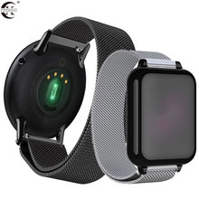 20mm 22mm huami amazfit gtr bip strap For Samsung Gear S3 s2 sport Classic huawei gt 2 active gala galaxy watch 42mm 46 Band 40