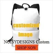 Noisydesigns personalizado acessórios de viagem cosméticos bolsa