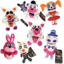 Горячие 18 см пять ночей у Фредди FNAF плюшевые игрушки, забавные медведь Фредди Фокси Бонни и Чика плюшевые мягкая игрушка кукла Дети Рождественские подарки