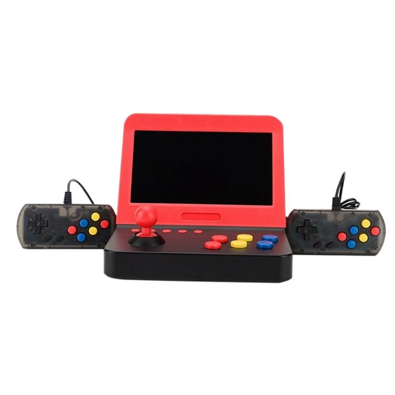 Mini 7 pouces tenu dans la main jeu d'arcade rétro Machines pour des enfants avec 3000 jeux vidéo classiques