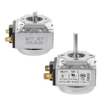 OOTDTY DKJ-Y  60/120 Minutes 15A Delay Timer Switch For Electronic Microwave Oven Cooker Hot Selling dkj y 60 minutes 15a delay timer switch for electronic microwave pressure oven cooker