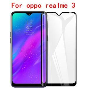 Image 3 - 3D מלא דבק מזג זכוכית עבור Oppo A1K Oppo Realme 3 מלא מסך כיסוי מסך מגן סרט עבור Oppo Realme c1 C2