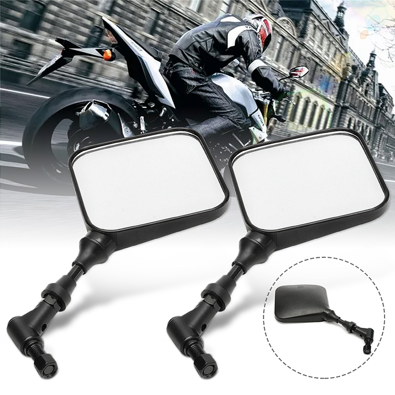 Pair Motorcycle Mirrors Rear View Side Mirror For Suzuki <font><b>DR</b></font> <font><b>200</b></font> 250 DR350 350 DRZ 400 650 DR650 Motorcycle Mirrors Accessories image