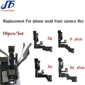 Image 1 - 10 sztuk dla iPhone 5 5g 5c 5s 6 6G 6s plus światła czujnik zbliżeniowy Flex Cable z przodu kamery mikrofon montaż