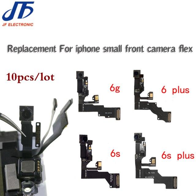 10 sztuk dla iPhone 5 5g 5c 5s 6 6G 6s plus światła czujnik zbliżeniowy Flex Cable z przodu kamery mikrofon montaż