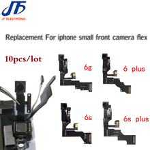 10pcs for iPhone 5 5g 5c 5s 6 6G 6s plus Light Proximity Sensor Flex Cable with Front Facing Camera Microphone Assembly